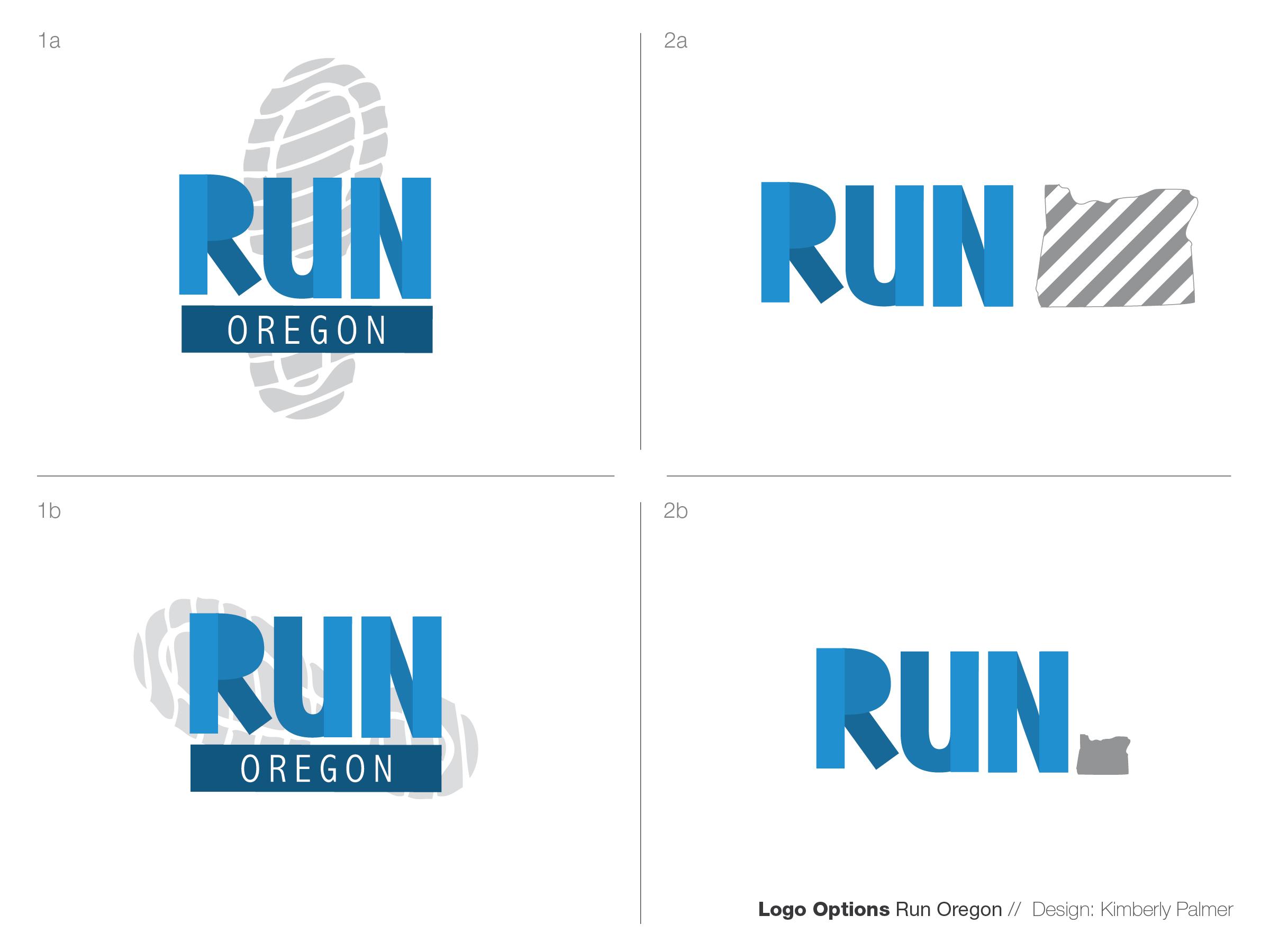 Run-Oregon Logo by Kimberly Palmer