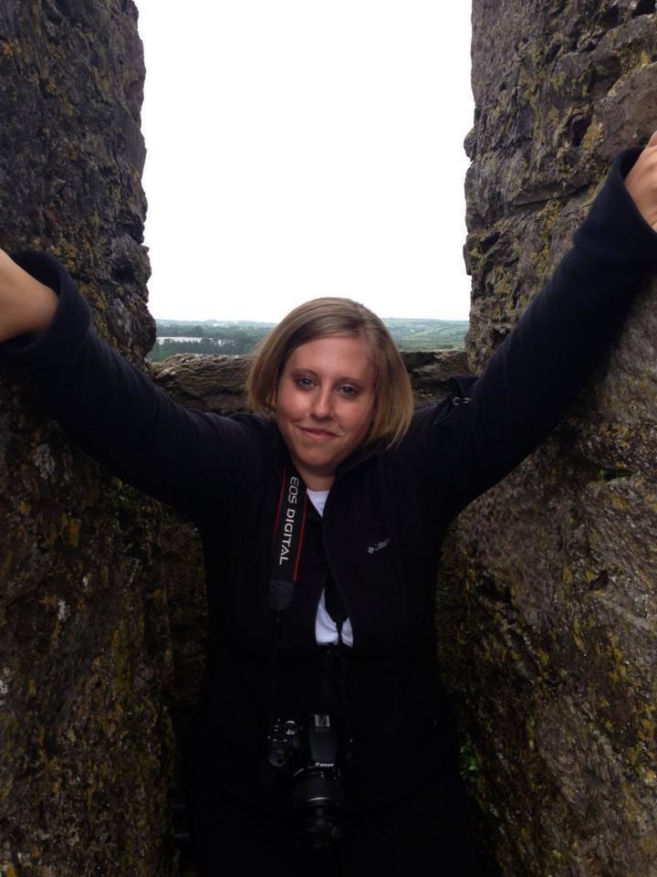 Bobbi at Blarney Castle