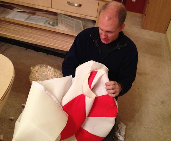 Making a Candy Cane Running Costume