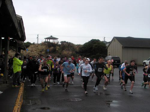 The start of the 2012 Coast Hills Festival 5k. Photo from CHRC Facebook page.