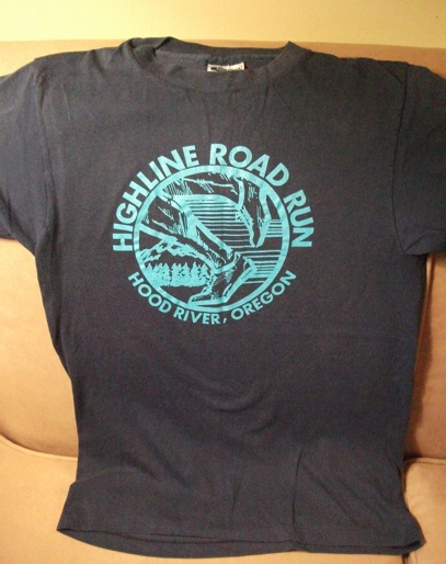Joe's Highline Road Run shirt from 1989. With no more than 16 runners, this shirt is a very limited edition!