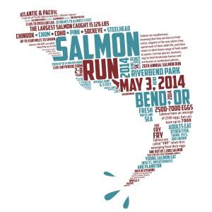 2014 Salmon Run Shirt (Availble for $15 purchase)