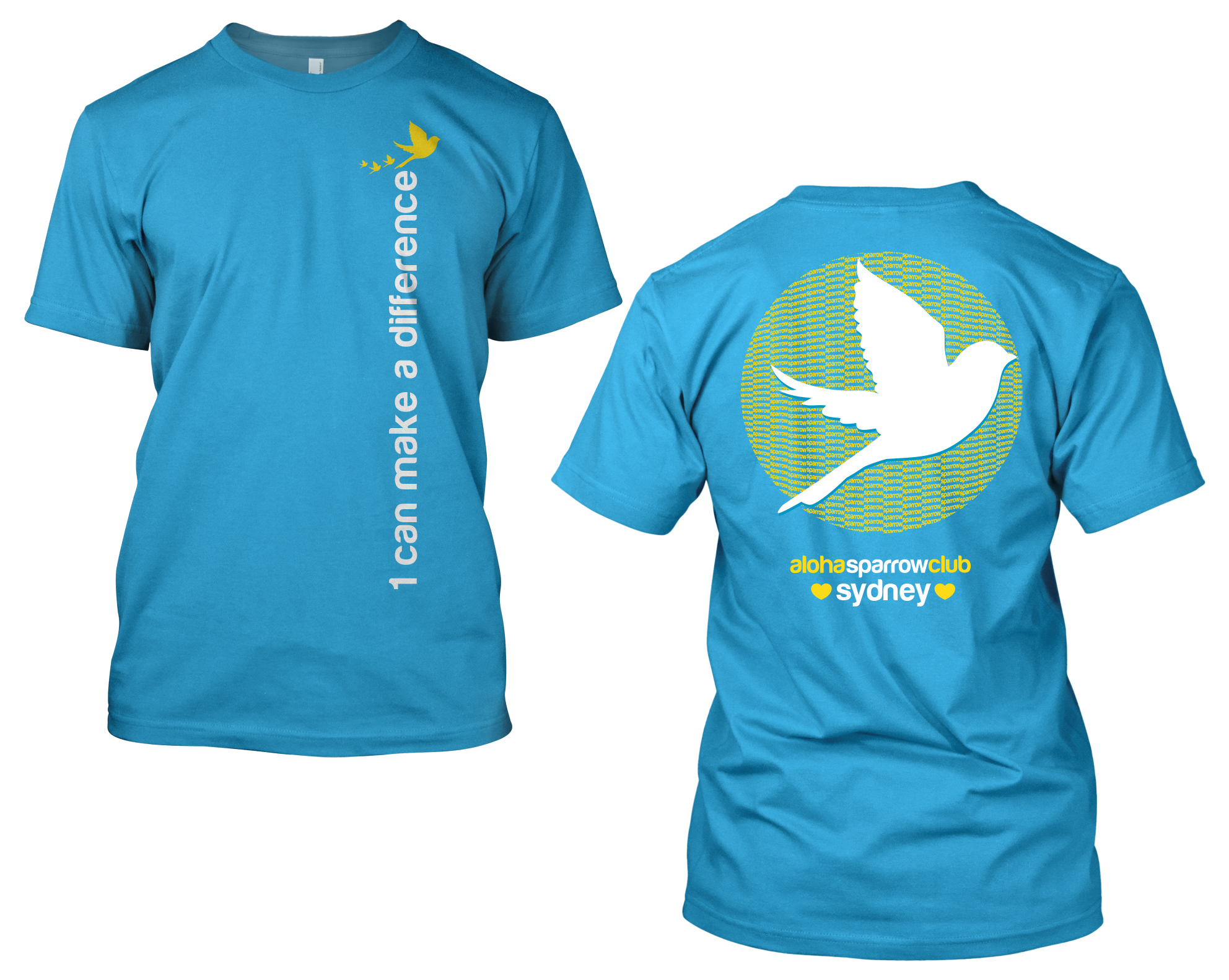 The t-shirts are $11; sweatshirts are also available for $15.