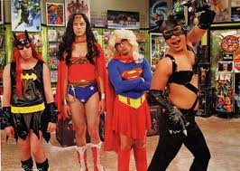 Get a little creative with your costume ... but maybe avoid the Halle Berry Catwoman costume. Credit: The Big Bang Theory TV show. Ah, the internet.