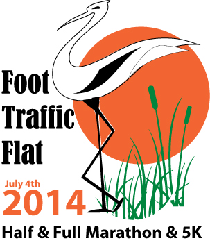2014 Foot Traffic Flat Marathon, Half Marathon and 5k 7/4/2014