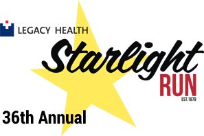 Legacy Health Starlight Run Logo