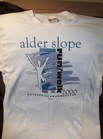 Alder Slope Fun Run T-shirt, 2000