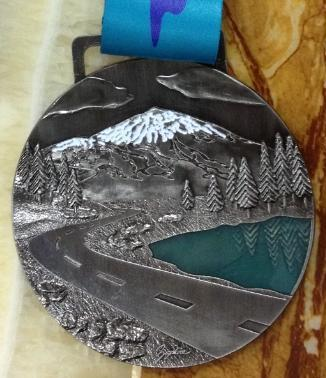 2014 Pacific Crest Finisher Medal Photo courtesy of AA Sports