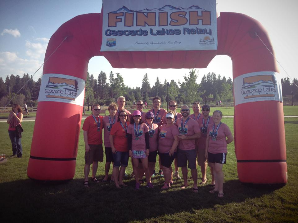 Cascade Lakes Relay- Team 'Can't We All Just Run Along'